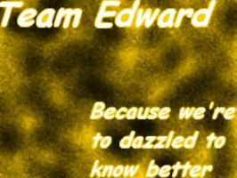 Team Edward by MtotheAtotheRIAH