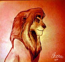 King Simba by WolfHowl10