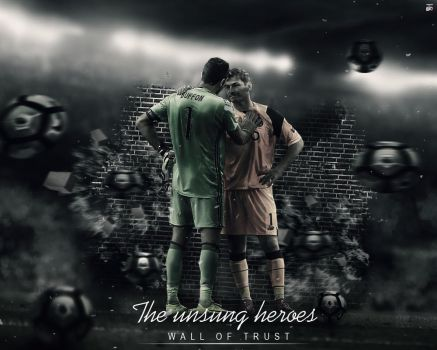 The unsung heroes Iker Casillas Buffon Wallpaper by Ropn1996
