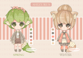 Shizurus - Adopts/Set Price - [OPEN] by KristinaHlopec