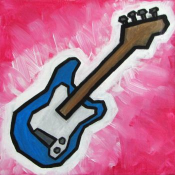 Guitar by alispagnola
