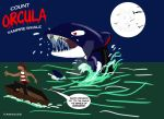 Orcula, Vampire Whale by Gummibearboy