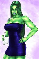She-Hulk I hope you are Ready by MangaPym by cerebus873