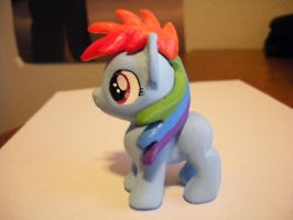 Almost Complete Filly Rainbow Dash Sculpt/Cast by mcubb