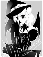 Happy Halloween from panda by kotorikurama