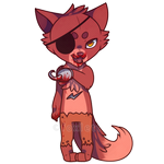 Foxy - Five Nights At Freddy's by foxlett