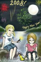 Happy New Year: 2008 by fastclickchic0413