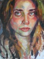 Portrait In Oil 8 by aastusharma