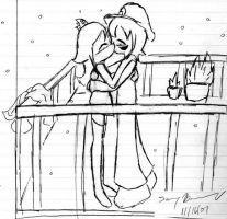 Winter Kiss by CharlaP