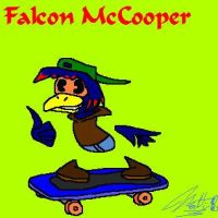 Falcon McCooper Smiley by cheddarpaladin