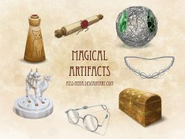 DSA: Magical Artifacts by miss-hena