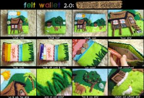 Felt Wallet 2.0 by aneesah