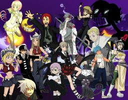 Soul Eater Collab by titanstargirl