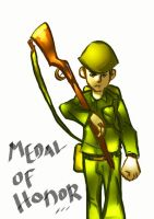 march for medal of honor by LEPAZO