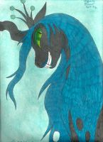 Queen Chrysalis by crownvetchponylover9