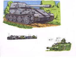 Exam Tanks by ObershutzeWienman