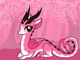 Cherry Blossom Dragon by RigazzBerryJello