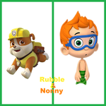 Rubble And Nonny by EmoInuyasha
