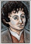 Frodo ACEO For sell - 10$ US + 3,50 for shipping by TheCryingOrc