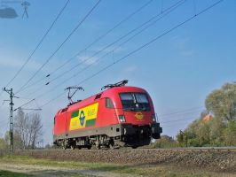 1116 063-7 between Ikreny and Gyor by morpheus880223