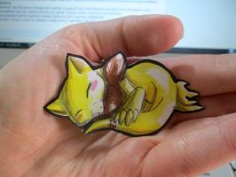 Paperchild 129. Pokemon#63 - Abra by FuriarossaAndMimma