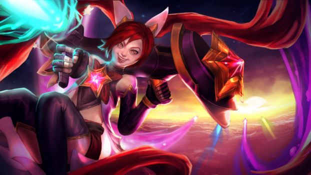 STAR GUARDIAN JINX: Zap!! by Magnusmight