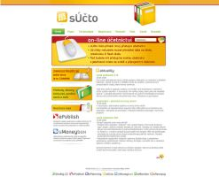 sUcto website by plechi