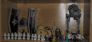 lego starwars display 1 by TMNTFAN85