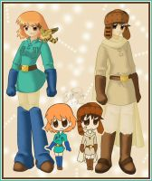 Nausicaa and Asbel by brigette
