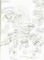 Tmnt Doodles by MagentaCooly