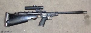homemade rifle by MADMAX6391