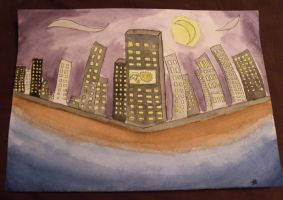 City Scape by Janica23