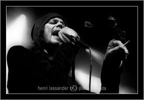 Ville Valo in Helldone, Two by henrimikael