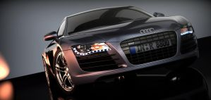 Audi R8 without lights by SnuffPuff