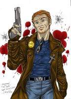 Zack Ward color by ChrisHolm