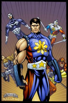 The New Pinoy Super Heroes by gioparedes