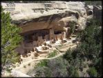 The Cliff Palace at Mesa Verde by roy-sac
