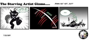 The Starving Artist Gizmo: C3 59 by culdesackidz