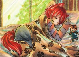 "81st ACEO ""Afternoon Nap"" by Hime-chama"