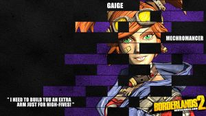Borderlands 2 Wallpaper - Legacy (Gaige) by mentalmars