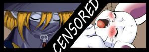 Tailmon and Wizardmon CENSORED by reijisakamoto