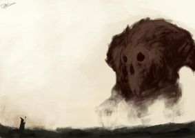 Colossus Concept Speed Paint by JimOfRapture