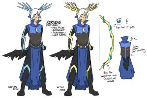 R11 - Ion Reburst Ref - Xerneas by kasu