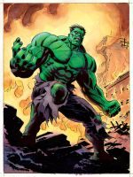 Green Hulk by BillReinhold