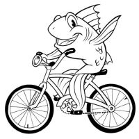 Fish on Bike by ColbyBluth