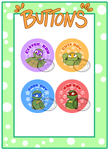 TMNT - Badges/Buttons by Myrling