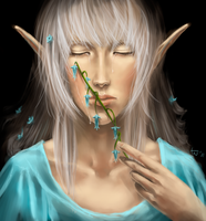 Elven Tear by Uruviele