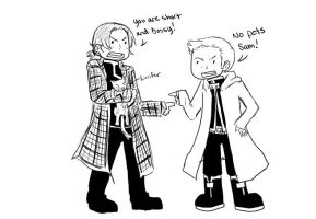 The Winchester Brothers by rockleeofthesand