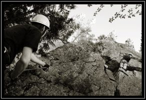 Climbing by P-Photographie