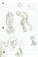 The Rake more sketches by RoomsInTheWalls